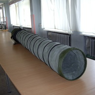 Outdoor insulated fabric Duct